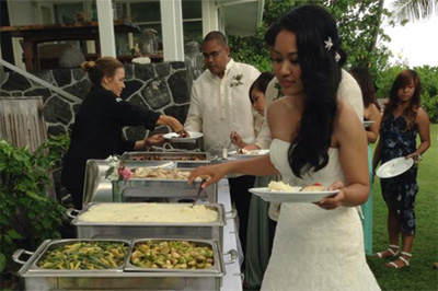 Mon Ami Catering Wedding Menus